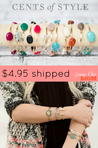 cents of style bracelet pin