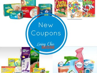 New Coupons – Swiffer, Pampers, Cereal and more!