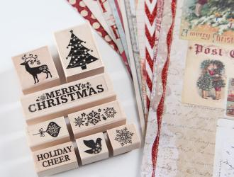 Craftsy – Christmas Stamp and Paper Kit just $9.60 (reg $32)!