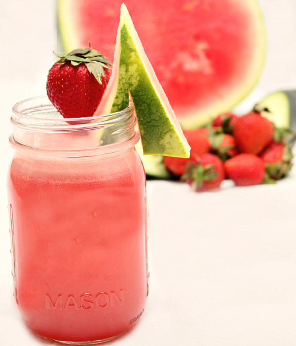 strawberry watermelon and cucumber juice fg