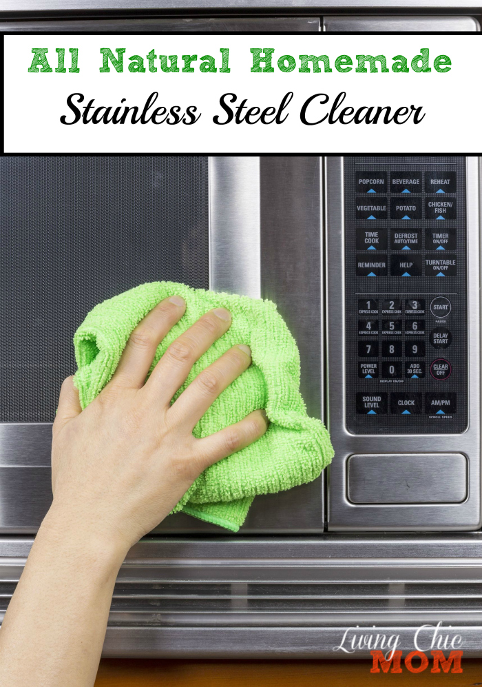 All Natural Stainless Steel Cleaner