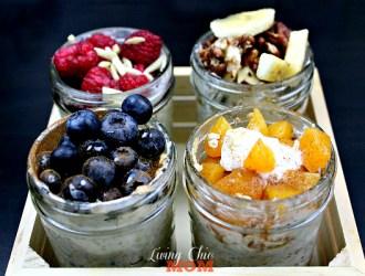 4 Amazing Overnight Oatmeal Recipes with Greek God's Yogurt