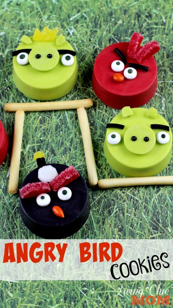 Angry Bird Cookies 3