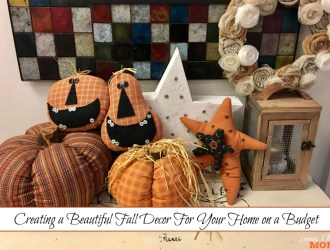 Creating a Beautiful Fall Decor For Your Home on a Budget