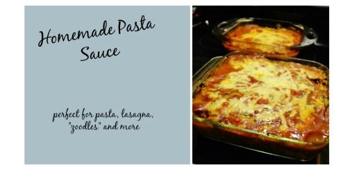 Homemade pasta sauce cover photo