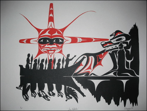 Artist and Chief James Swan: on First Nations legendary creatures and animal spirits (Part 1/3)