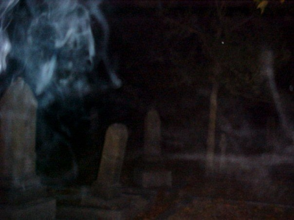 Ghostly Images: Ross Bay Cemetery and Hatley Cemetery