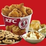 KFC: $10 bucket with 10 pieces every Sat. & Sun.