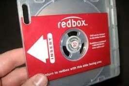 Get free DVD rental at Redbox