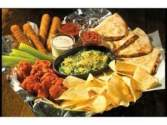 Free appetizer sampler at Applebee's