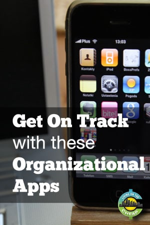 Get help staying on track with your New Year's resolutions with these organizational apps.