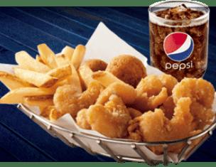 Pirates get free food at Long John Silver's