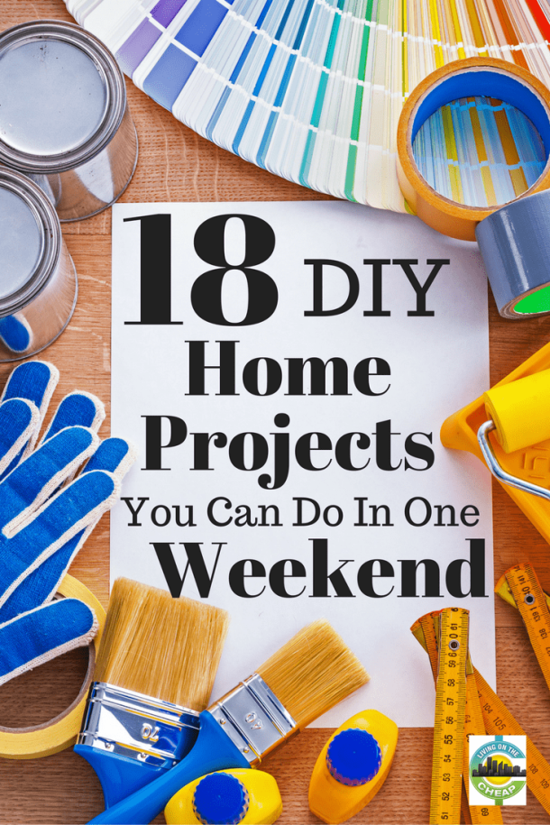 18 cheap and easy d i y home improvement projects living for Easy cheap diy home projects