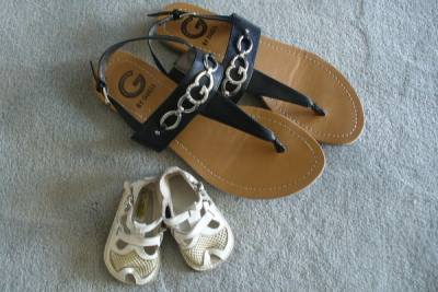 sandals-then-and-now