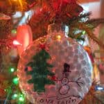 An easy and cheap way to make your own Christmas ornaments