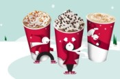 Buy 5 Starbucks holiday beverages, get 1 free