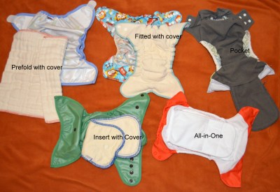 cloth diapers with description