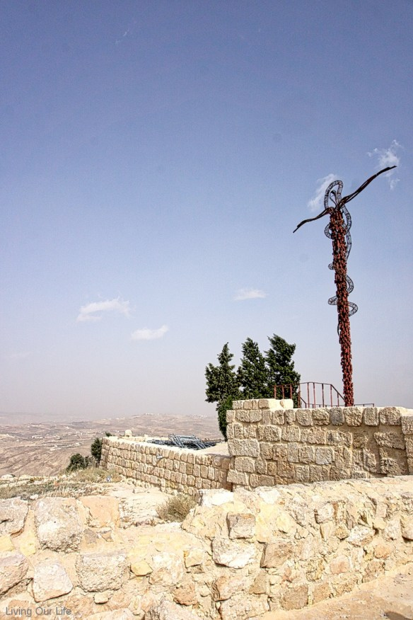 Cross on Mt. Nebo
