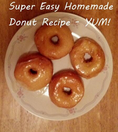 Easy Homemade Doughnut Recipe, No Special Equipment Required