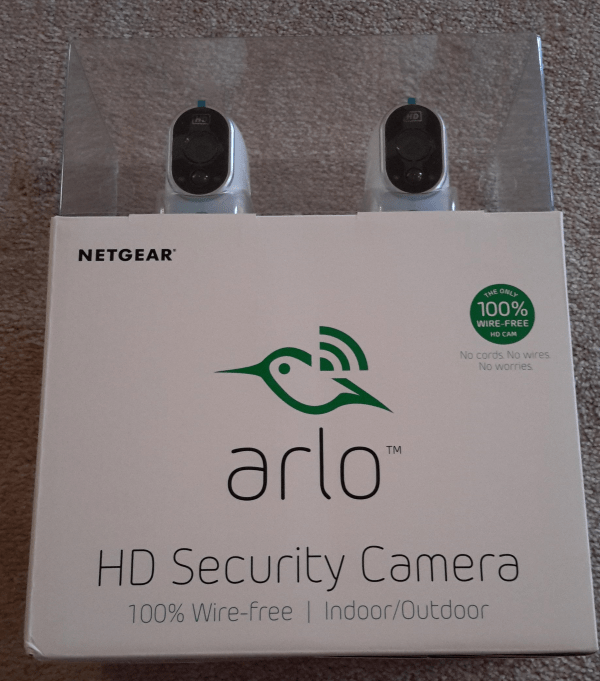 how to set up wireless home security camera