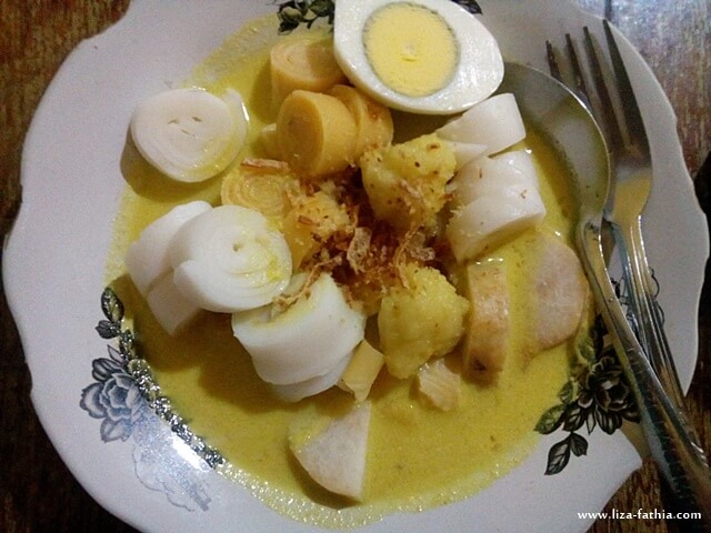 burgo, makanan khas palembang