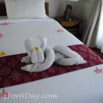 Walk In Ubud Towel Art