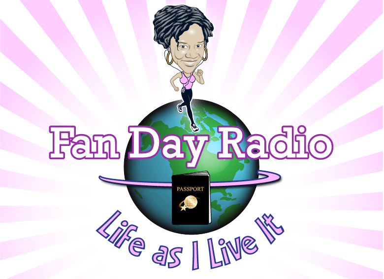 Liz's Random Fitness Thoughts on Fan Day Radio