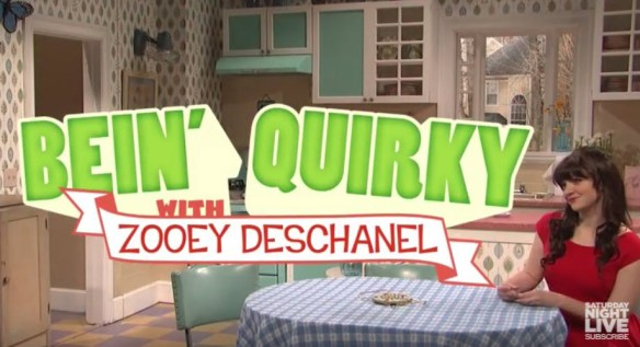 quirky with zooey
