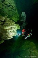 An orientation dive in Unnamed Cave