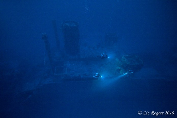 Malta Mark One from 90m depth