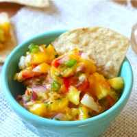 Pineapple-Mango Salsa