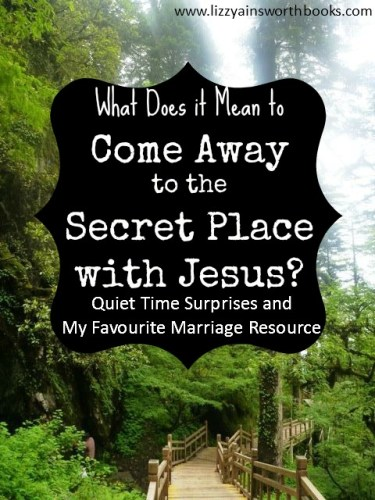 Quiet Time and Marriage Resources