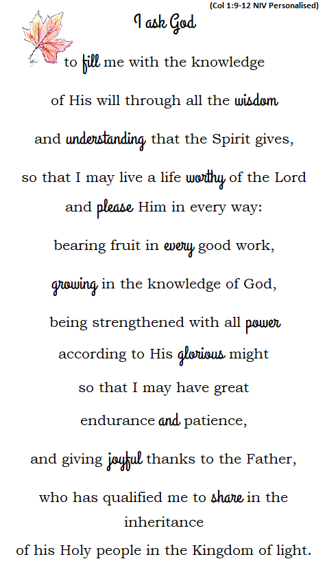 Prayer for Understanding God's Will