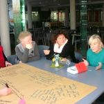 Speed-Dating-Runde Bildung