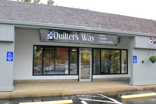 Quilter's Way Signage