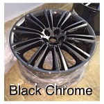 black chrome plating lm chrome