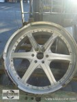 Wheels - Chrome Plating - Before - Auto