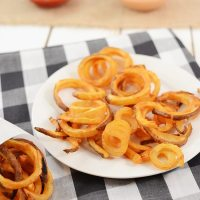 Oven Baked Curly Fries - Arby's Copycat