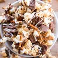 Potato Chip Caramel Popcorn