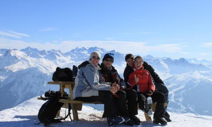alpes-esquiada