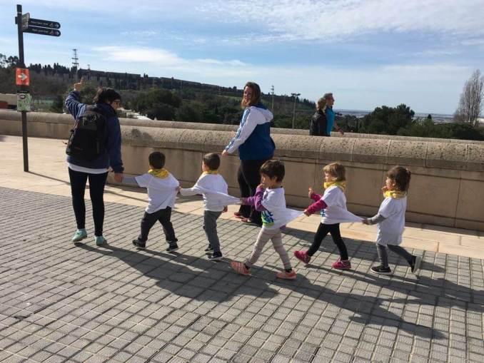 excursion con niños