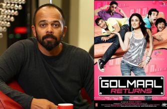 Rohit Shetty (left: Golmaal Returns poster)