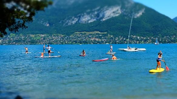 soleil chaleur annecy Lété revient (mais oui!), réservez votre session paddle !