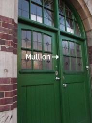 door mullion