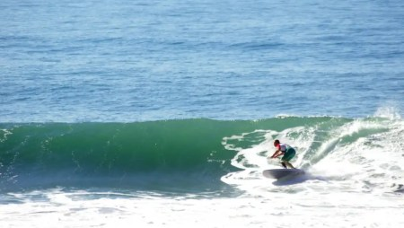 Andre' intensifies his training for the ISA World Championships in Peru