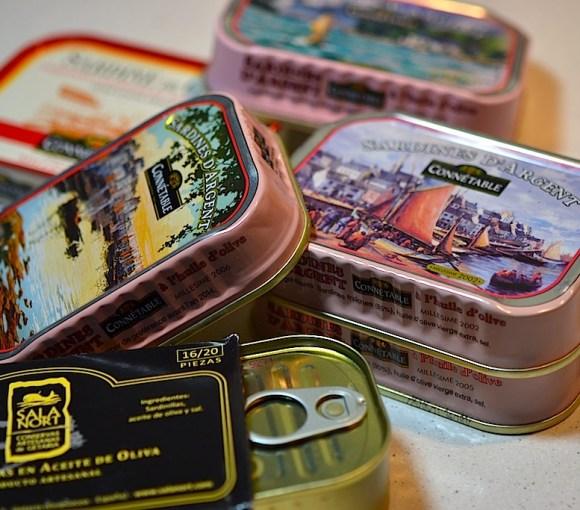 Les sardines millésimées