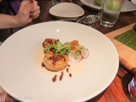 Scallops at STK, Downtown