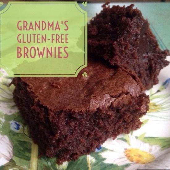 Grandma's Gluten-Free Brownies
