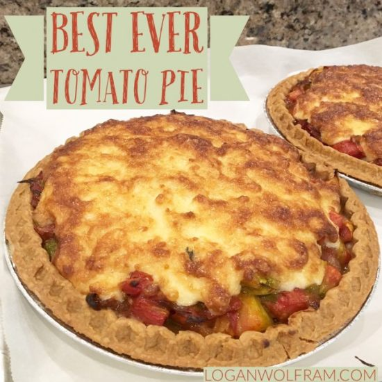 Best Ever Tomato Pie