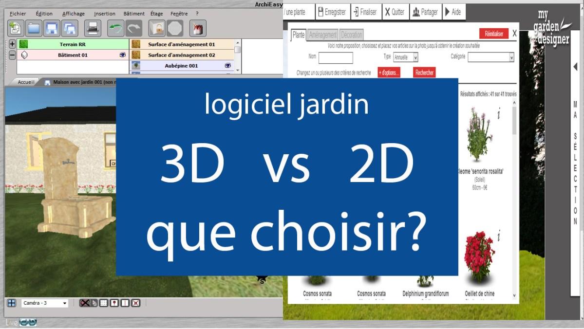 Logiciel jardin 3d ou 2d logiciels jardins le guide - Logiciel 3d jardin gratuit ...